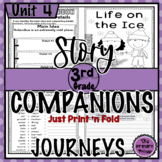 Journeys THIRD Grade Story Companions: Unit FOUR