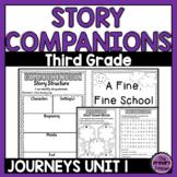 Journeys THIRD Grade Story Companions: Unit ONE