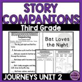 Journeys THIRD Grade Story Companions: Unit TWO