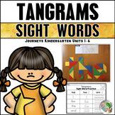 Tangram Sight Words (Journeys Sight Words Kindergarten Units 1-6 Supplement)
