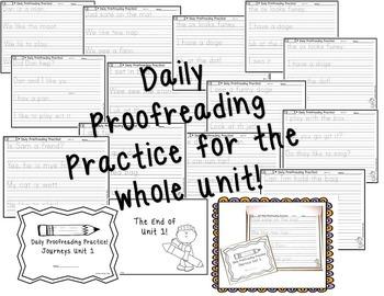 Journeys Teacher Tools  Bundle  Unit 1 First Grade