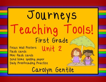 Journeys Teacher Tools  Bundle Unit 2 First Grade