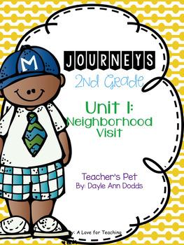 Journeys Teacher's Pet Grade 2 {Editable}