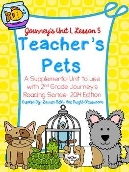 Journeys- Teacher's Pets Supplemental Unit {Unit 1: Lesson 5}