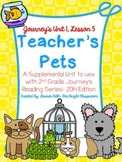 Journeys- Teacher's Pets Supplemental Unit {Unit 1: Lesson 5}
