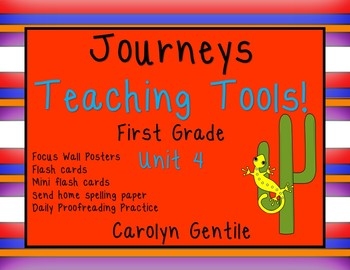 Journeys Teaching Tools!  First Grade Unit 4
