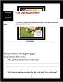 "Journey's ""The Dog Newspaper"" Comprehension & Vocabulary Worksheet"