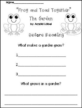 Journeys: The Garden 21...A Supplemental Unit