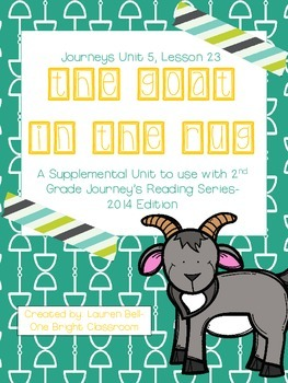 Journeys- The Goat in the Rug Supplemental Unit {Unit 5: L
