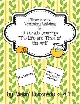 "Journeys: ""The Life and Times of the Ant"" Differentiated V"