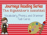 Journeys The Signmaker's Assistant Vocabulary, Phonics, an