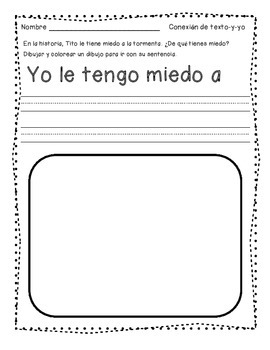 Journeys®  The Storm - *SPANISH* Literacy Activities - Grade 1