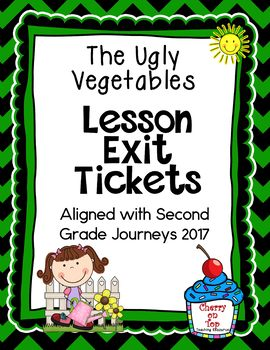 Journeys-The Ugly Vegetables Exit Tickets