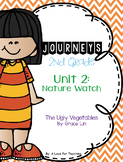 Journeys The Ugly Vegetables Grade 2 {Editable}