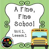 Third Grade: A Fine, Fine School (Journeys Supplement)