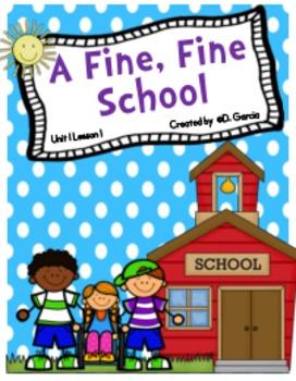 Journeys Third Grade A Fine, Fine School