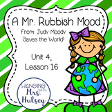 A Mr. Rubbish Mood (from Judy Moody Saves the World) Journ