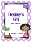 Journeys Third Grade Destiny's Gift