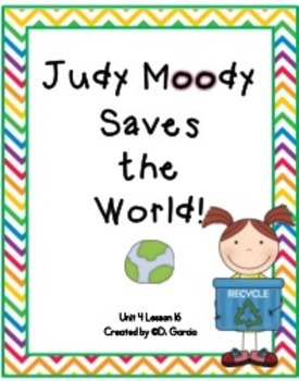 Journeys Third Grade Judy Moody Saves the World