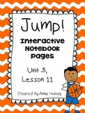 Jump! (Interactive Notebook Pages)