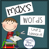 Third Grade: Max's Words (Journeys Supplement)