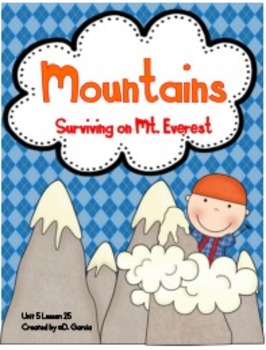 Journeys Third Grade Mountains Surviving on Mt. Everest