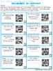 Journeys Third Grade QR Code Vocabulary Printables Unit 4