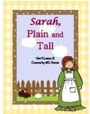 Journeys Third Grade Sarah Plain and Tall