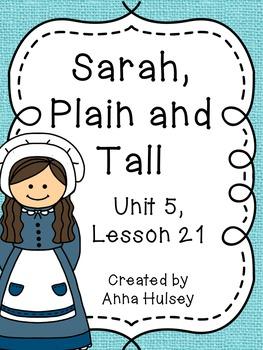Third Grade: Sarah, Plain and Tall (Journeys Supplement)