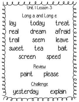 Journeys Third Grade Spelling Posters