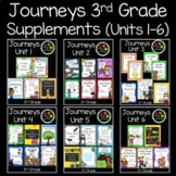 Journeys Third Grade Supplemental Materials (Units 1-6)