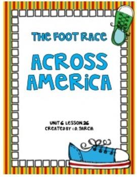Journeys Third Grade The Foot Race Across America
