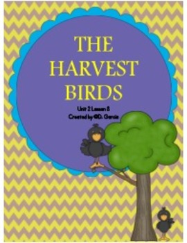 Journeys Third Grade The Harvest Birds