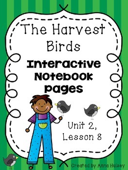 The Harvest Birds (Interactive Notebook Pages)