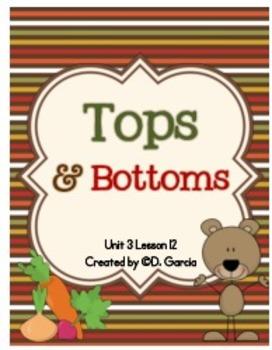 Journeys Third Grade Tops and Bottoms