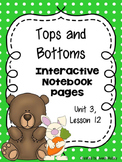 Tops and Bottoms (Interactive Notebook)