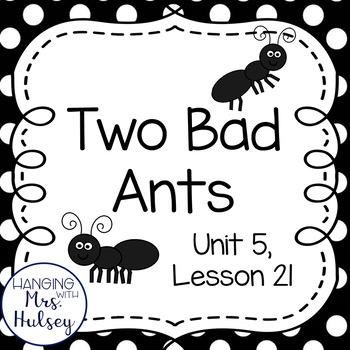 Third Grade: Two Bad Ants (Journeys Supplements)