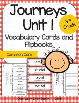 Journeys Third Grade: Unit 1