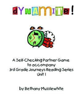 Journeys Third Grade Unit 1 BUNDLE