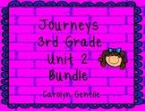 Journeys Third Grade Unit 2 Bundle 2012  Version