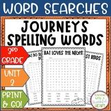Journeys 3rd Grade: Unit 2 Spelling Words Activity