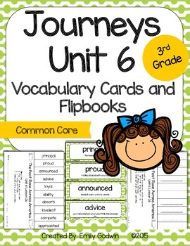 Journeys Third Grade: Unit 6