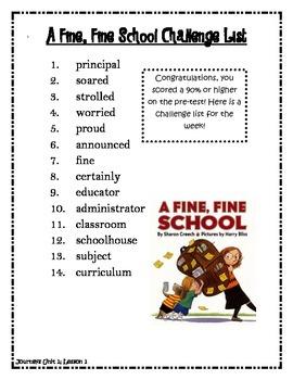 Journeys Third Grade Units 1-6 Spelling Lists