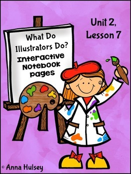 What Do Illustrators Do? (Interactive Notebook Pages)