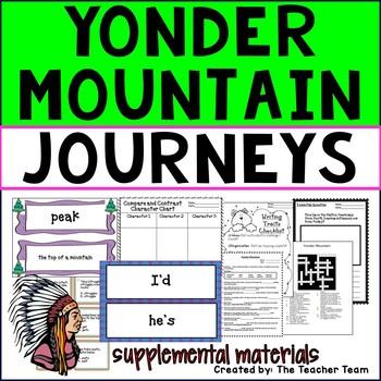 Yonder Mountain Journeys Third Grade Supplemental Materials