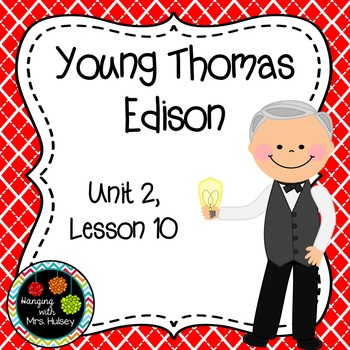 Third Grade: Young Thomas Edison (Journeys Supplement)