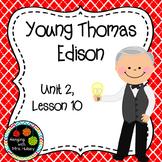 Third Grade: Young Thomas Edison (Journeys Supplement)