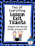 Journeys- Two of Everything Exit Tickets