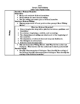 Journeys Uni1 1 Lesson 4 Complete