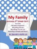 Journeys Unit 1 2nd Grade 'My Family' Activity Bundle